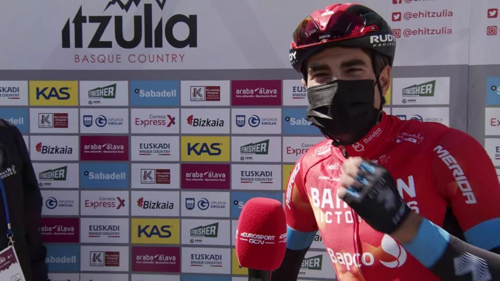 Mikel Landa cambio de planes 2021 Vuelta a España