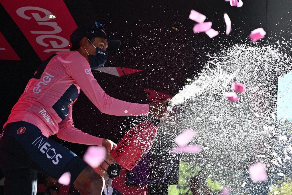 Egan Bernal ciclista Giro Tour menos de 25 años