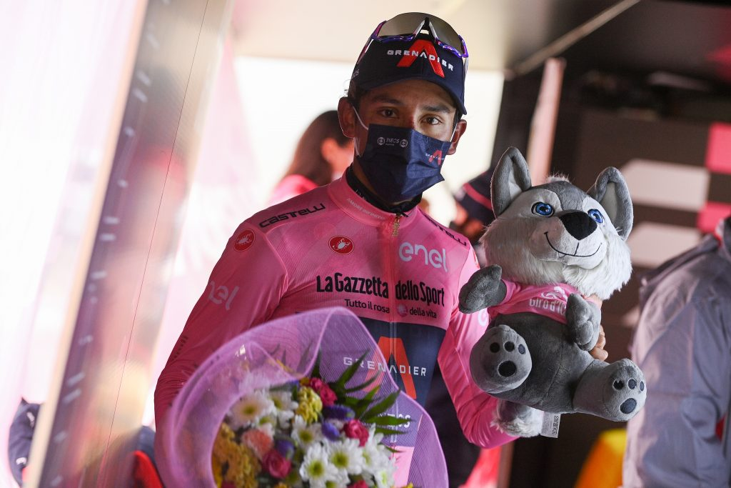 Delgado Egan Bernal Giro de Italia 2021