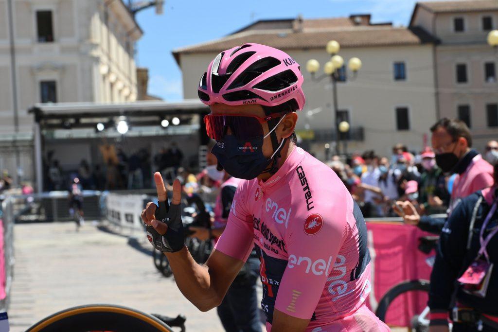 Ciclista español Egan Bernal ataque Castroviejo