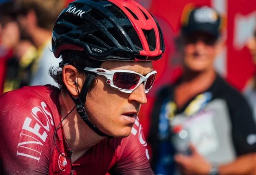 Geraint Thomkas dramático relato caída eta 4 Tour Romandía