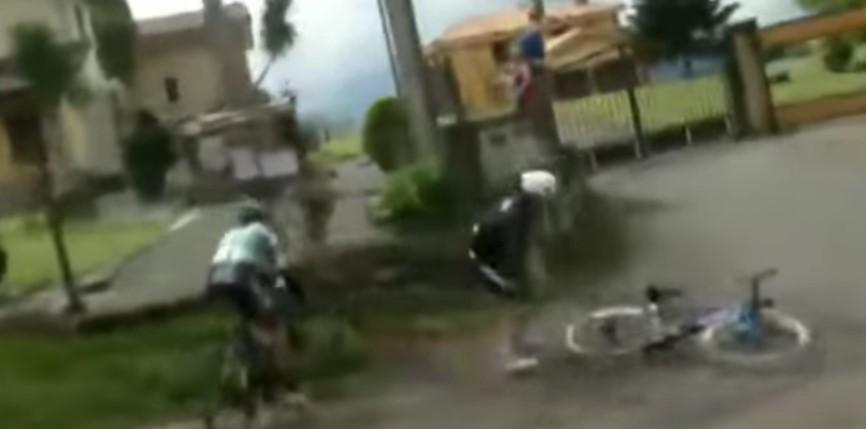 José Tito Hernández caída Vuelta a Asturias 2021