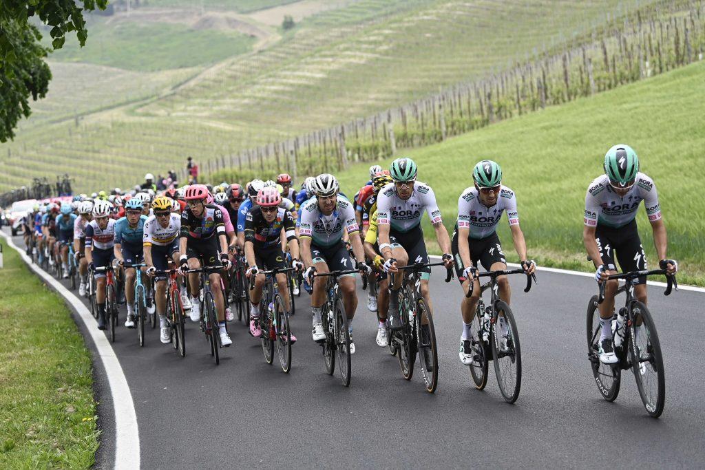 Latinoamericanos clasificación general Giro de Italia 2021