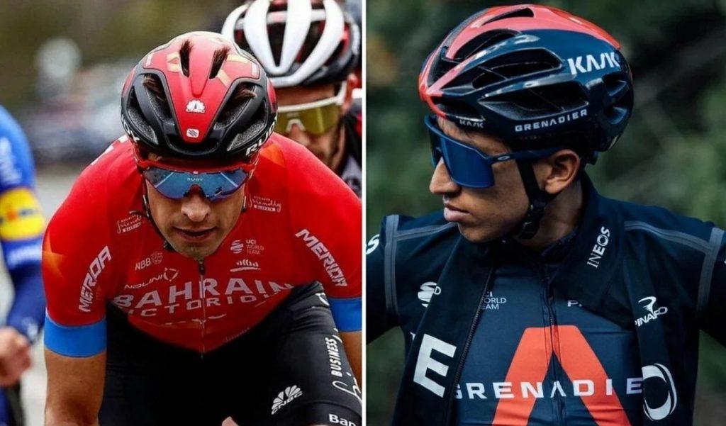 Giro de Italia 2021 Mikel Landa Egan Bernal