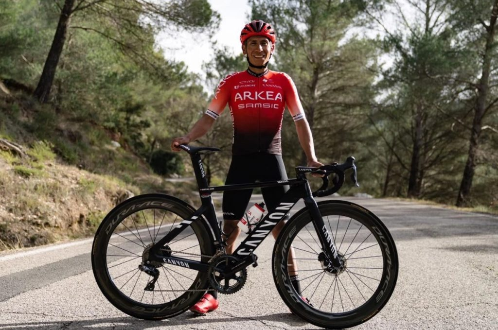 Nairo Quintana video defensa Movistar etapa 2 Vuelta a Asturias 2021