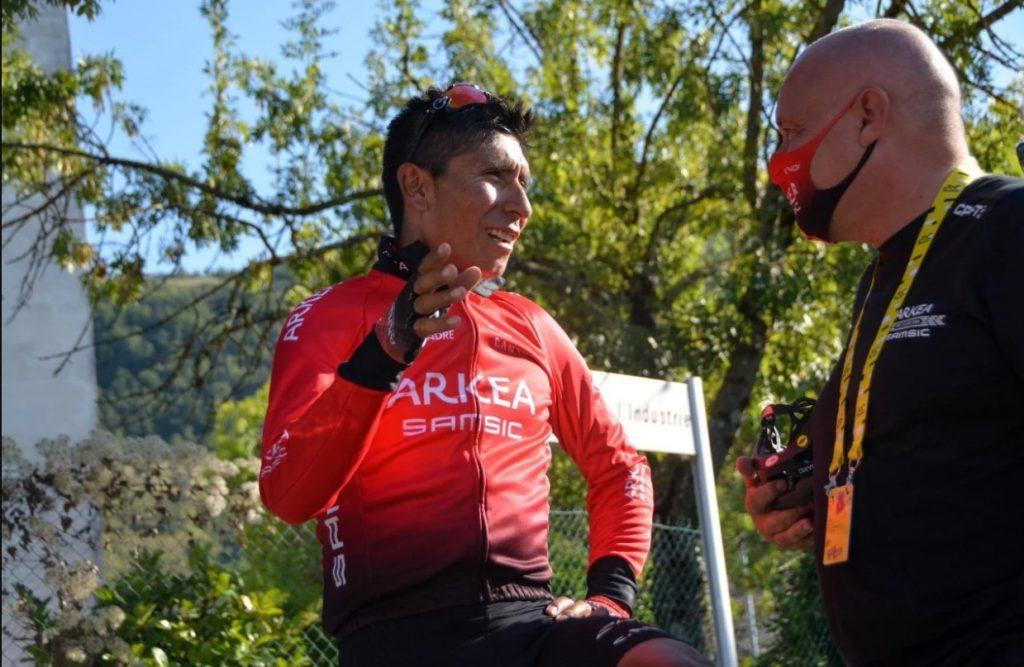 Nairo Quintana emotiva dedicatoria Colombia Vuelta a Asturias