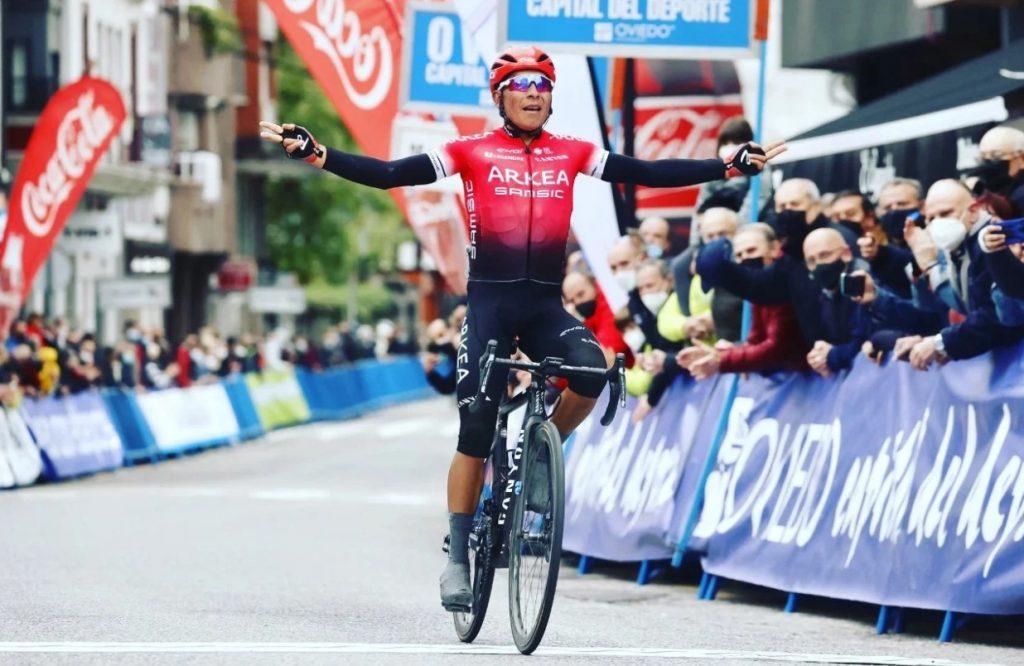 Arkea Samsic victoria Nairo Quintana vuelta a Asturias 2021