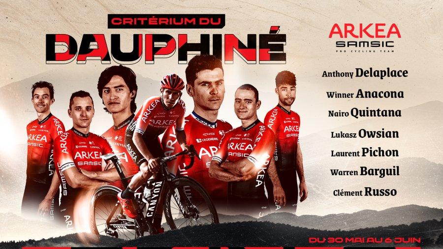 equipo Arkea Nairo Critérium 2021