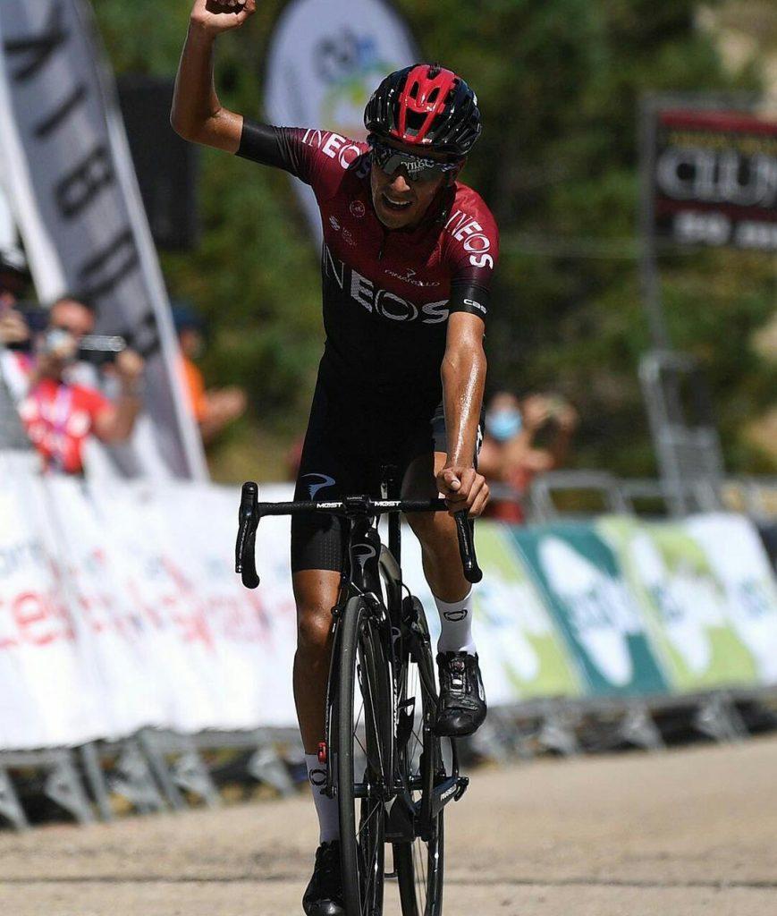Iván Sosa tremenda etapa 2 Algarve 2021