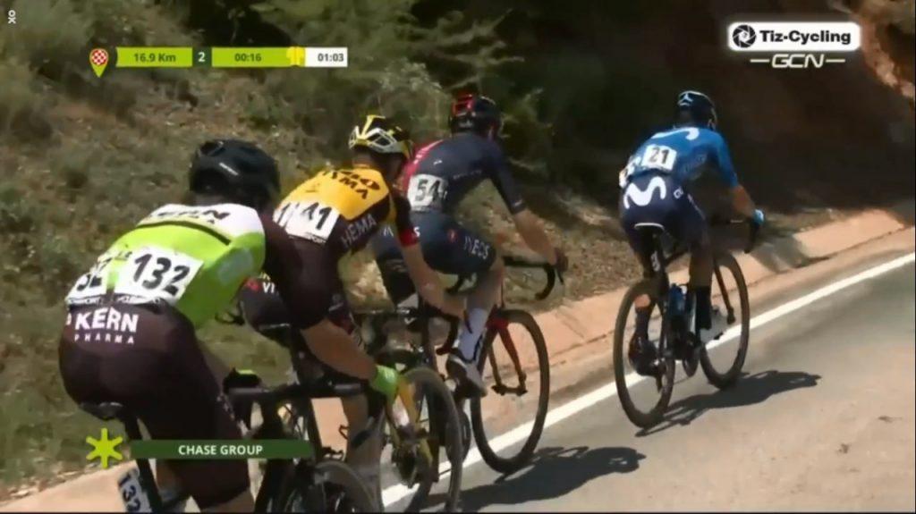 Miguel Ángel López gana etapa 3 Vuelta Andalucía 2021