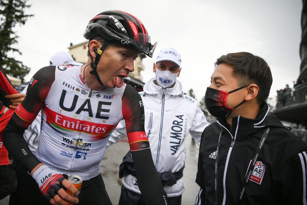 Dombrowski retiro Giro de Italia 2021