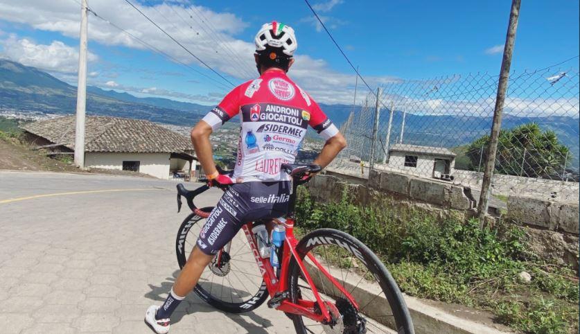 Alexander Cepeda es el nuevo campeón nacional de ruta de Ecuador 2021 foto