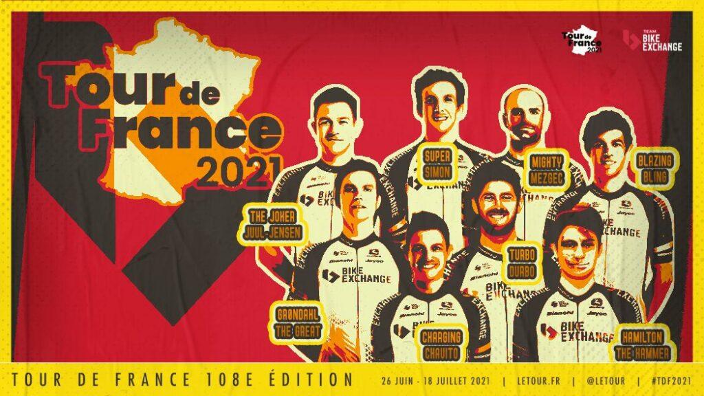 Esteban Chaves y Simon Yates confirmados por Bike Exchange para el Tour de Francia 2021