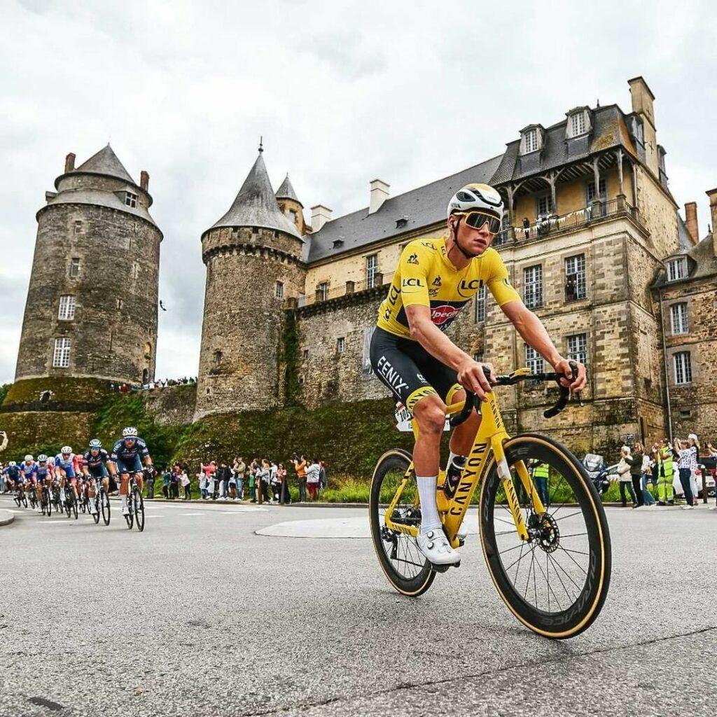 Mathieu Van der Poel es líder del Tour de Francia 2021 por tres días consecutivos