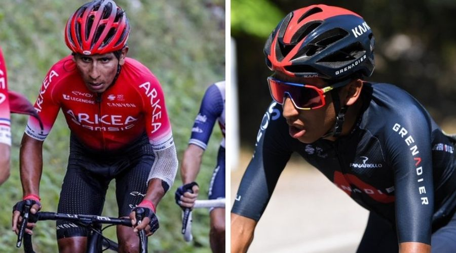 Nairo Quintana Egan Bernal top 5 Siglo 21 grandes vueltas