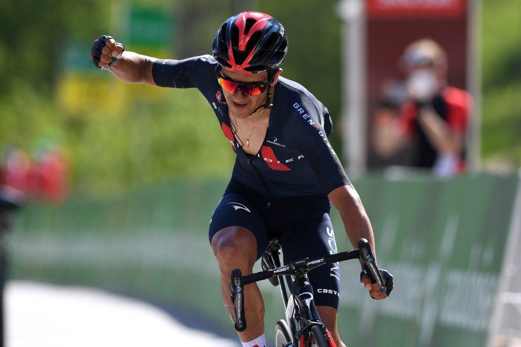 Richard Carapaz etapa 8 Tour de Suiza 2021