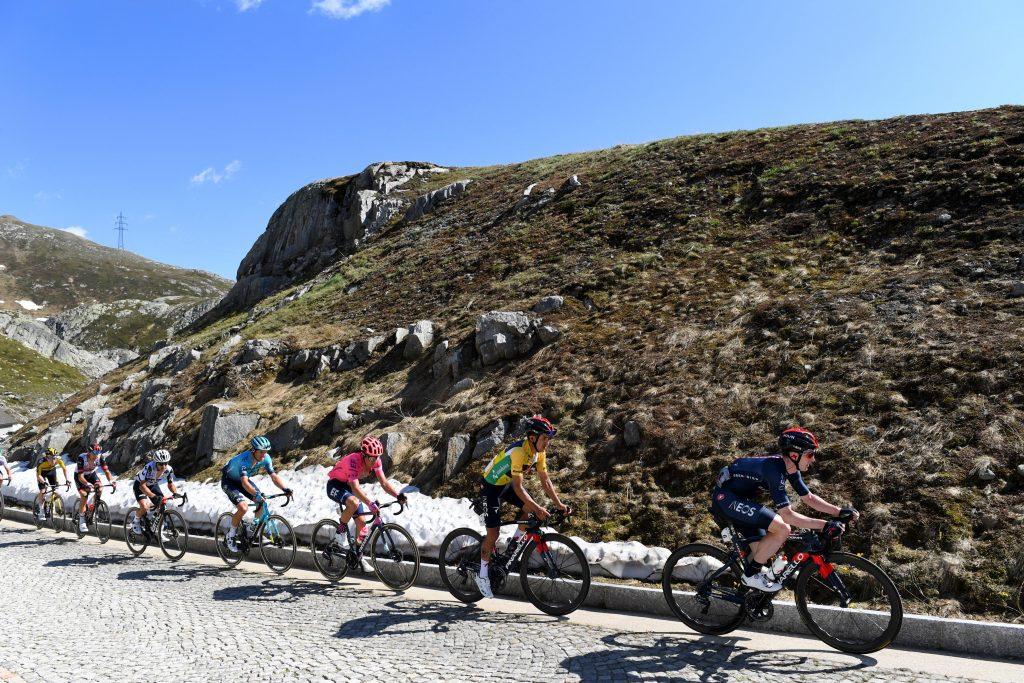 Richard Carapaz Tour de Suiza 2021 recibimiento