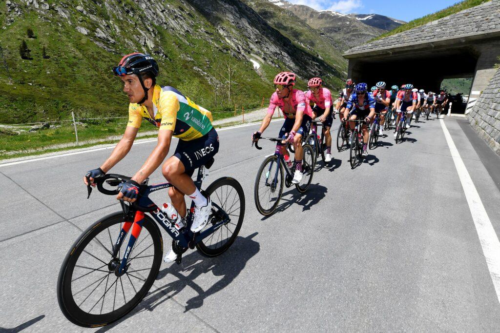 Richard Carapaz liderazgo Tour de Francia 202
