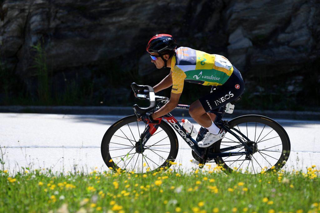 Richard Carapaz  habla victoria Tour de Suiza 2021