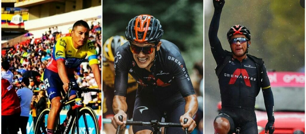 Richard Carapaz Narváez reemplazar Caicedo Olímpicos Tokio 2021