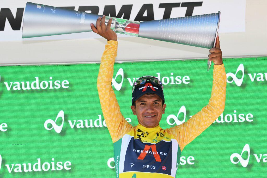 Richard Carapaz habría recibido 16.000 euros por ganar el Tour de Suiza 2021 foto