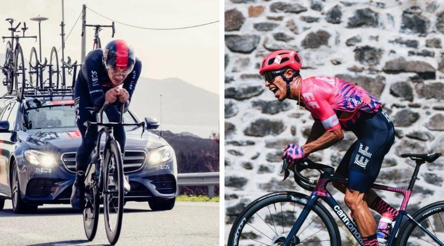 Rugoberto Urán habla etapa 8 Richard Carapaz Tour de Suiza 2021