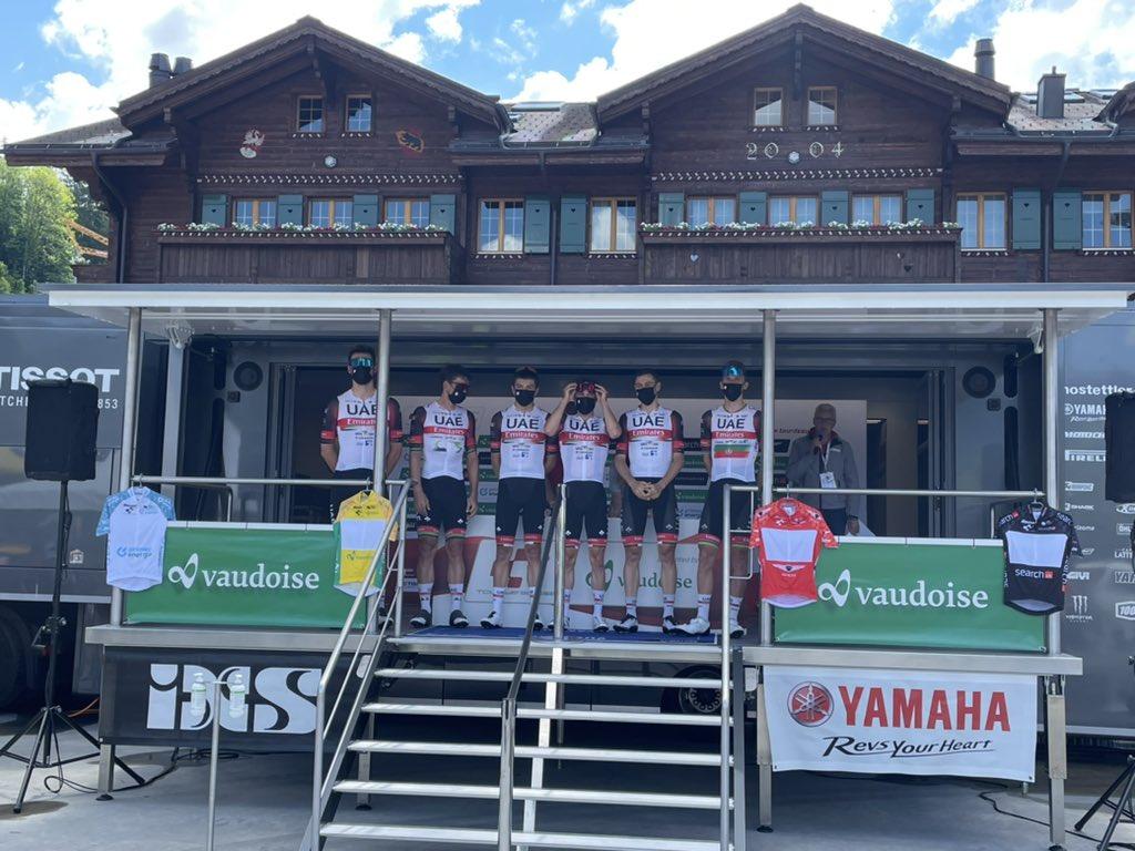 Tadej Pogacar gana la etapa 2 del Tour de Eslovenia y es líder en la general