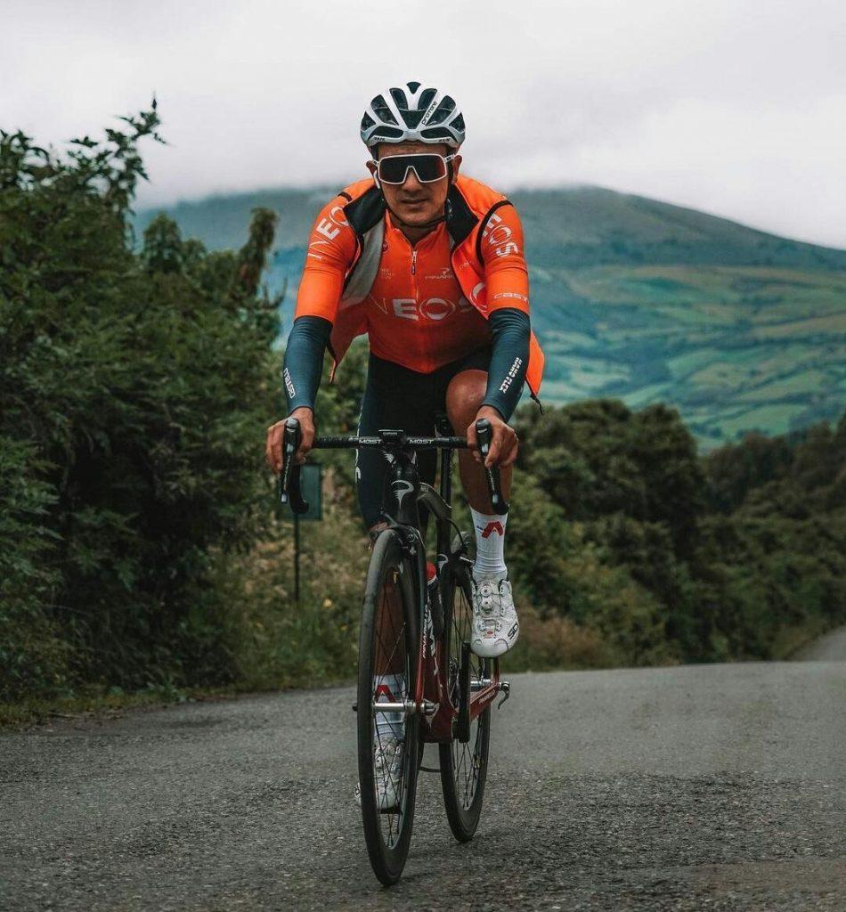 Carapaz tras la etapa 2 del Tour de Suiza 2021