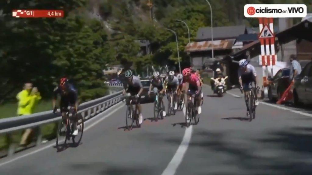 Schachmann Carapaz ataque Tour de Suiza 2021