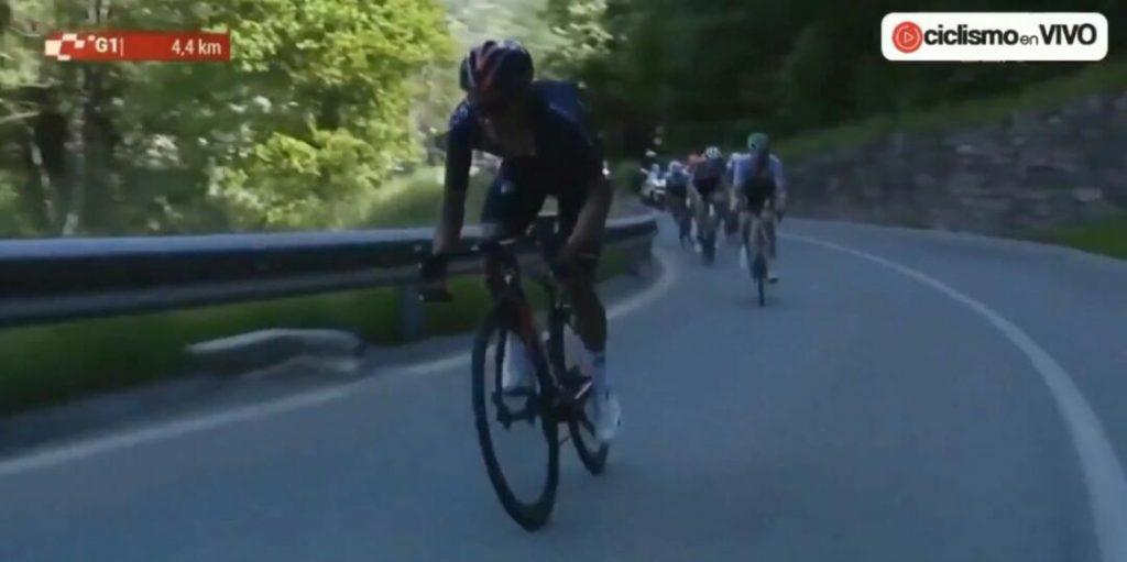 Carapaz ataque victoria etapa 5 Tour de Suiza 2021
