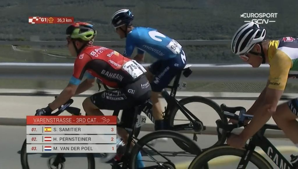 Richard Carapaz gana etapa 5 Tour de Suiza 2021