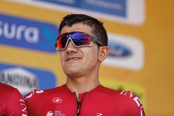 Richard Carapaz en el Tour Colombia