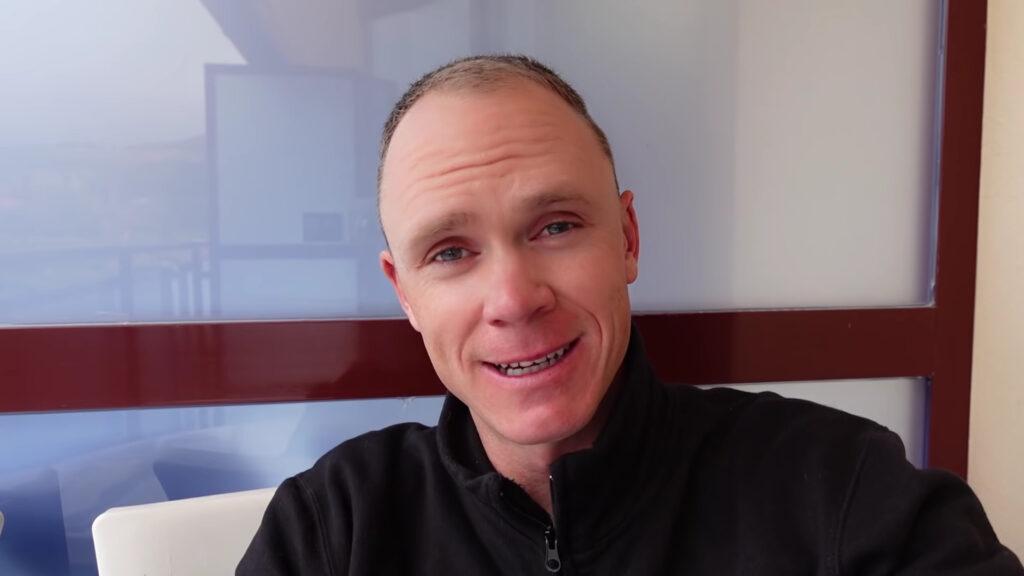 Chris Froome pantallazo rostro