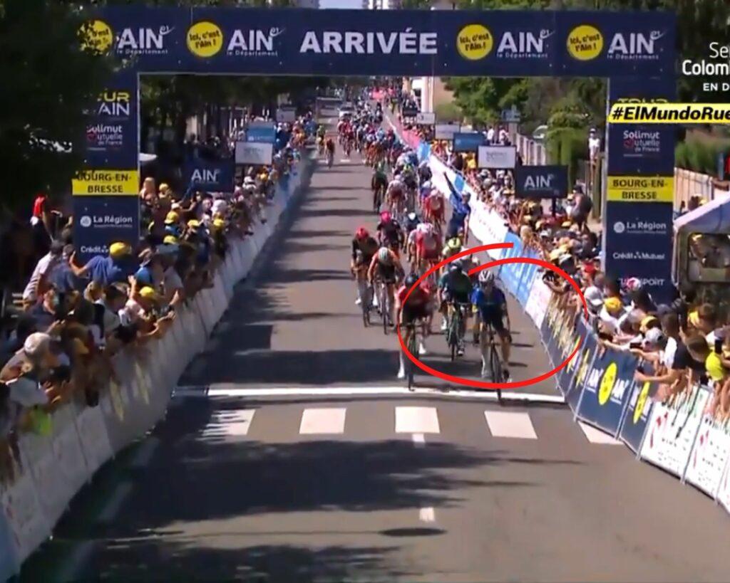 Álvaro Hodeg gana etapa 1 Tour de l'Ain 2021