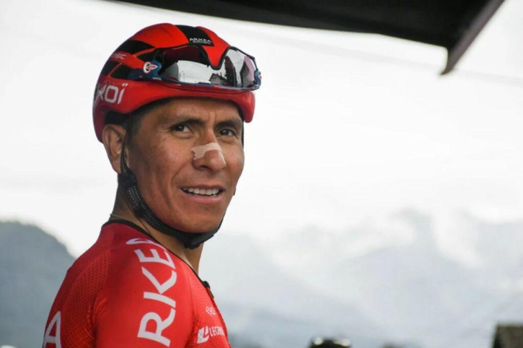 Tour de Francia 2021 Quintana problema etapa 12