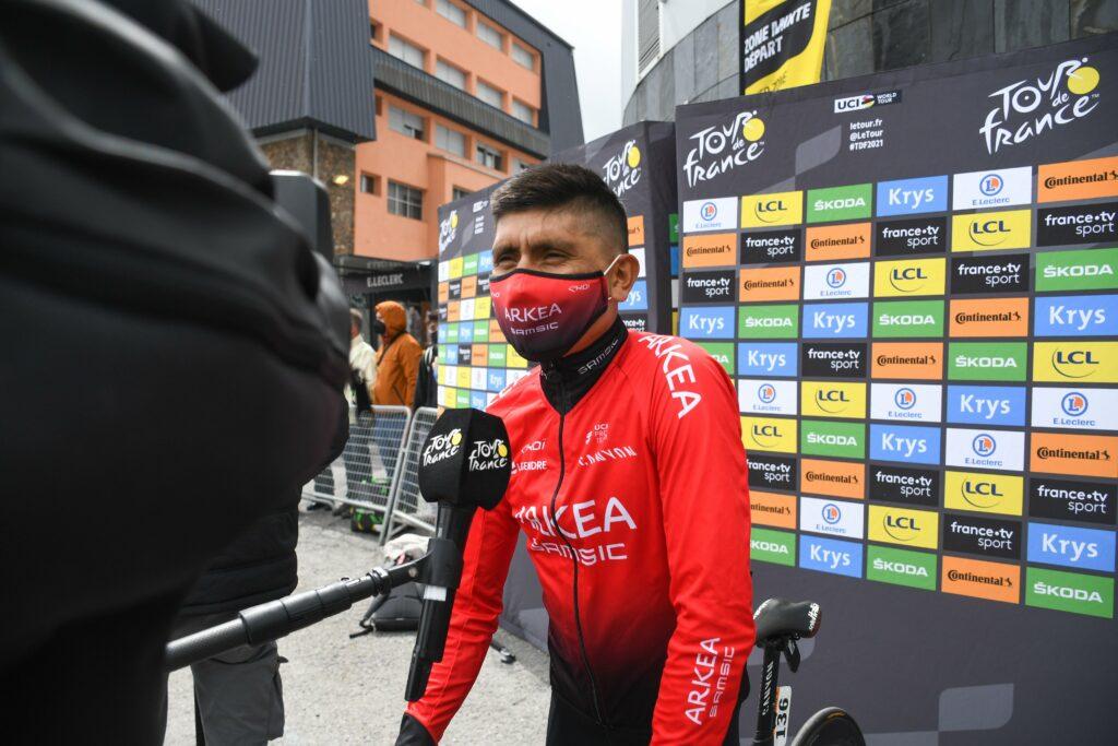 Nairo Quintana Arkea entrevista