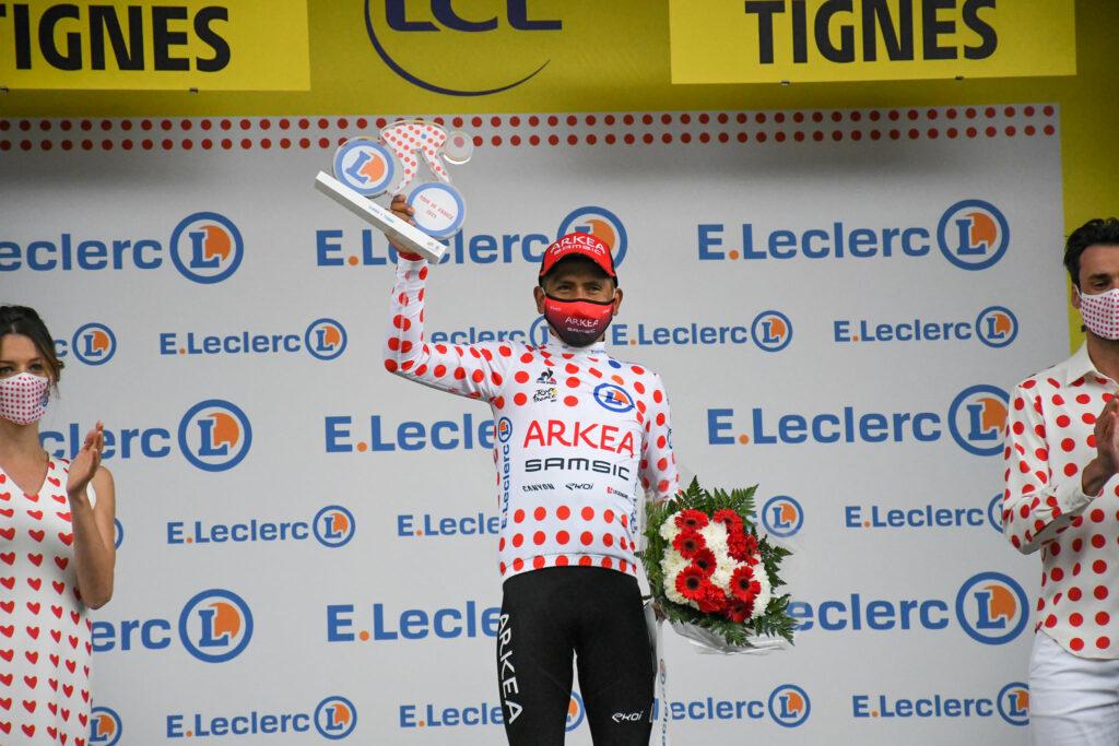 Nairo Quintana reclama la camiseta de la montaña en el Tour de Francia 2021 y podría igualar récord de Lucho Herrera