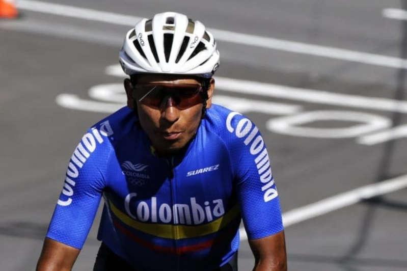 Nairo Quintana con Colombia