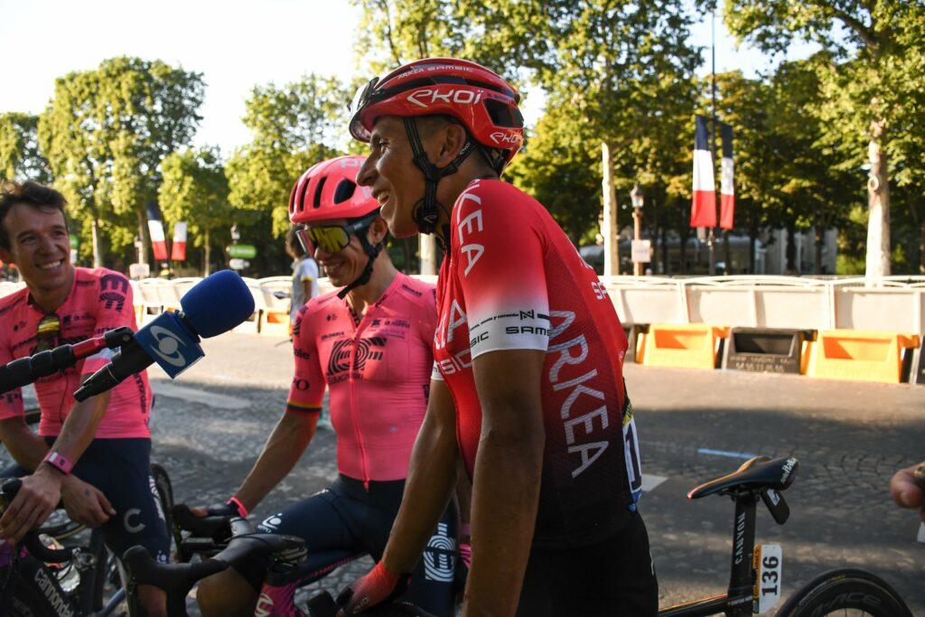 Nairo en entrevista con Rigo y Sergio