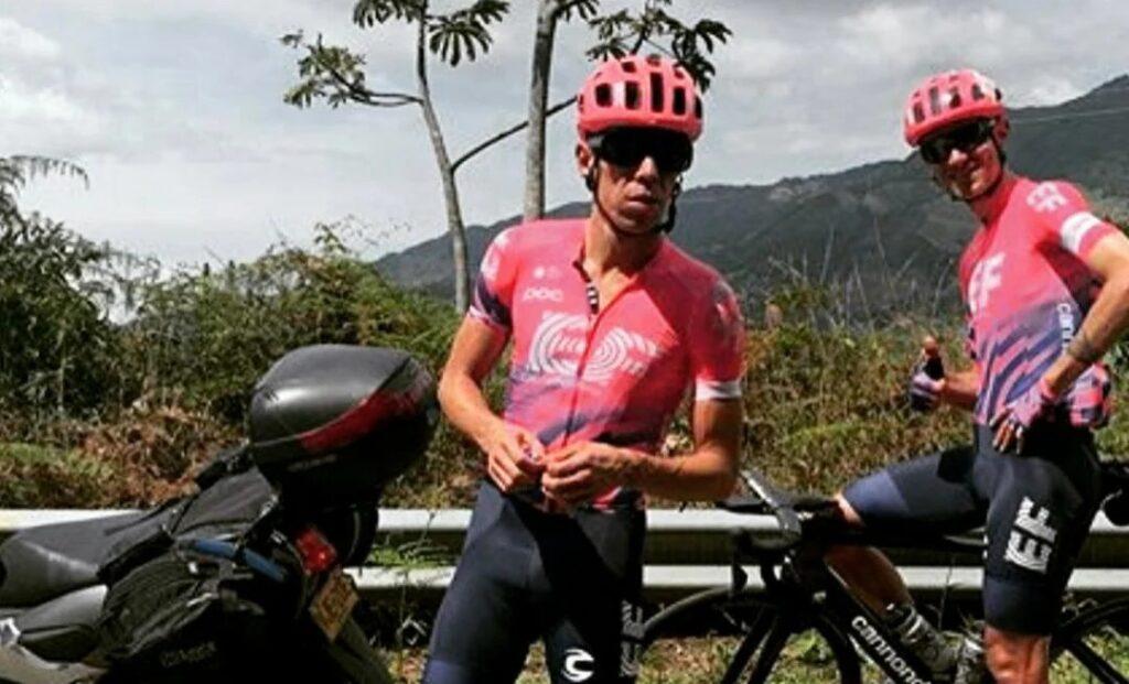 EF video Rigoberto Urán Tour de Francia 2021 detrás de cámaras