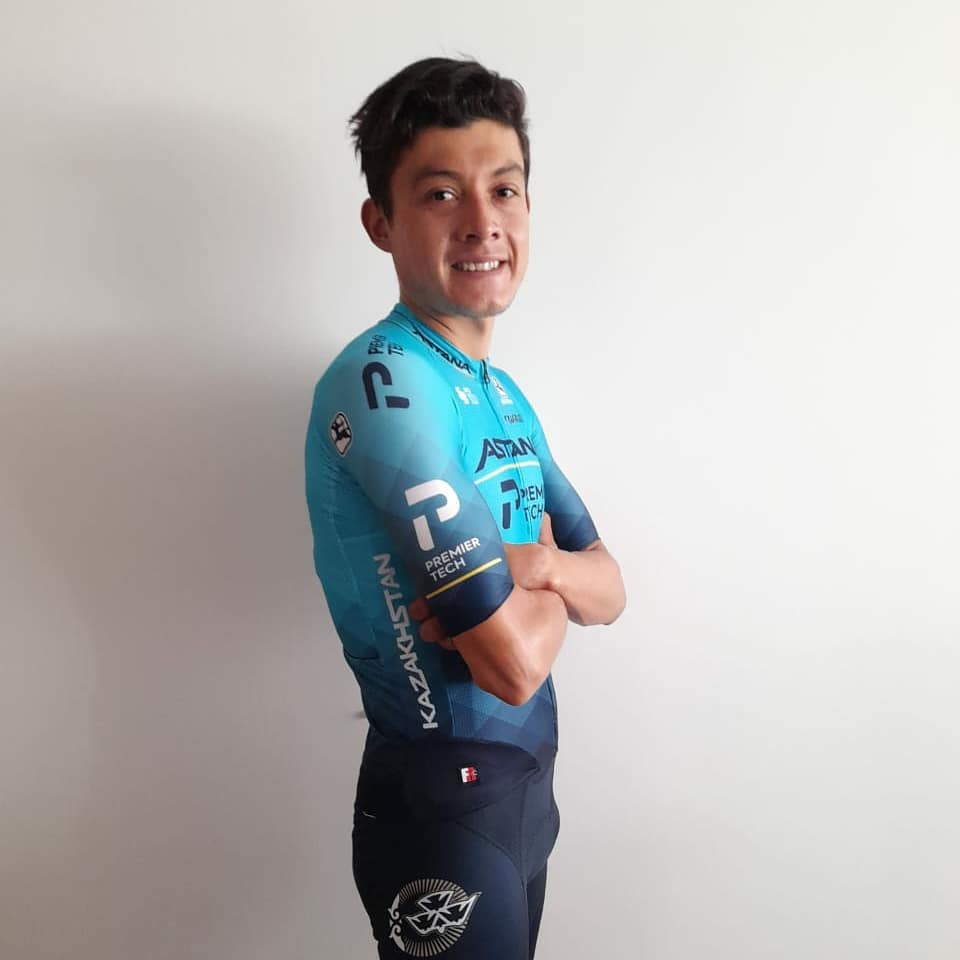 Rodrigo Contreras está dentro de la nómina del Astana que afrontará La Vuelta a Burgos 2021