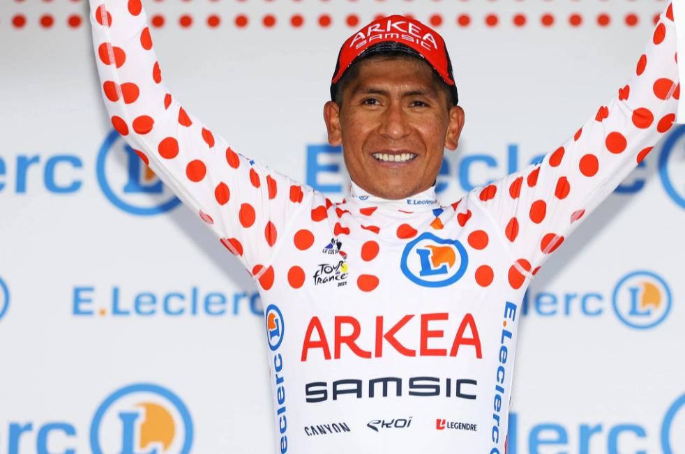 Nairo Quintana montaña Tour 2021