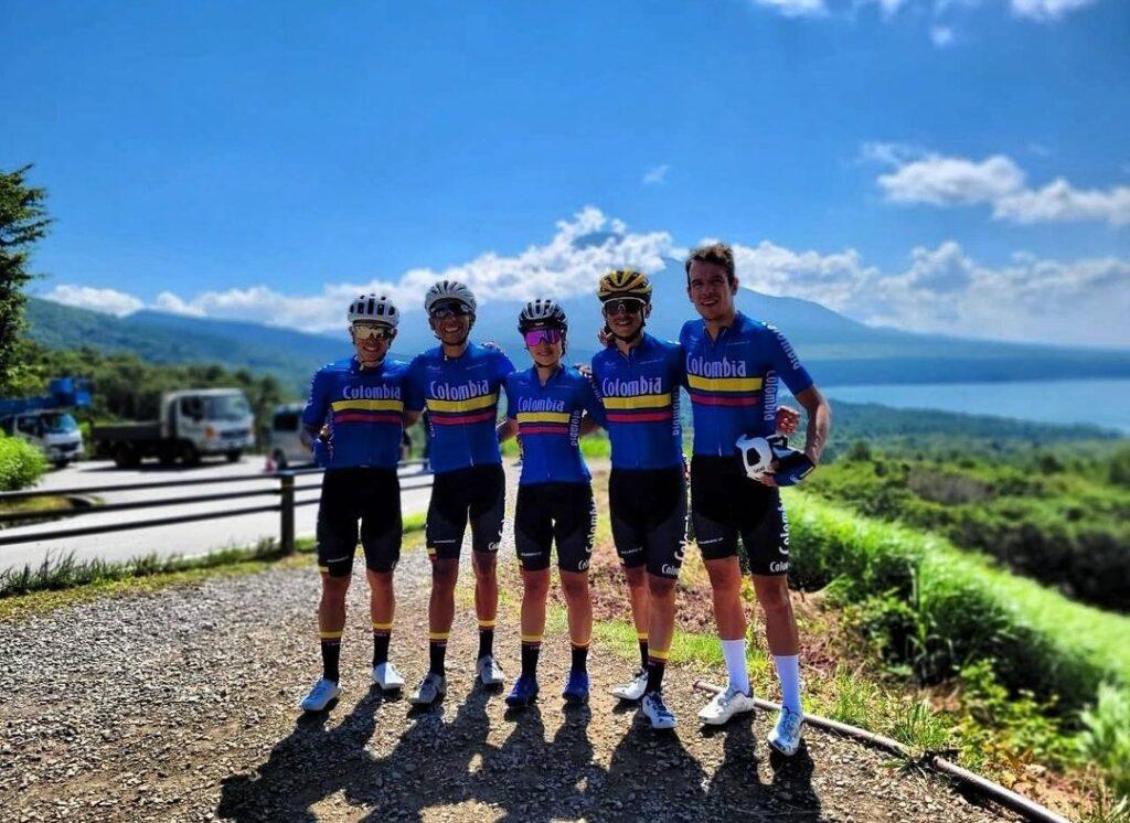 uniforme Nairo Quintana selección Colombia ciclismo