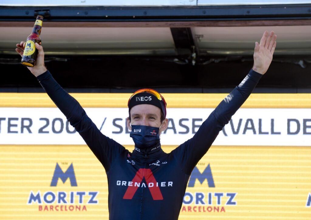 Egan Bernal Adam Yates primer test liderato Ineos Vuelta España 2021