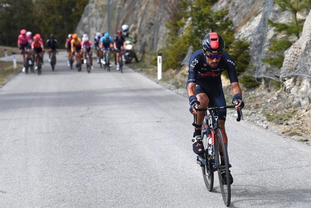 Daniel Martínez volvió a competencia Clásica San Sebastián 2021