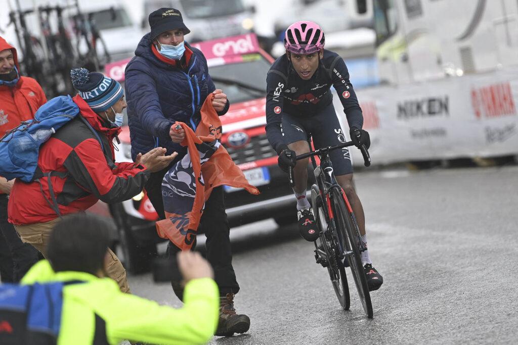 Egan Bernal mensaje Vuelta a Burgos 2021