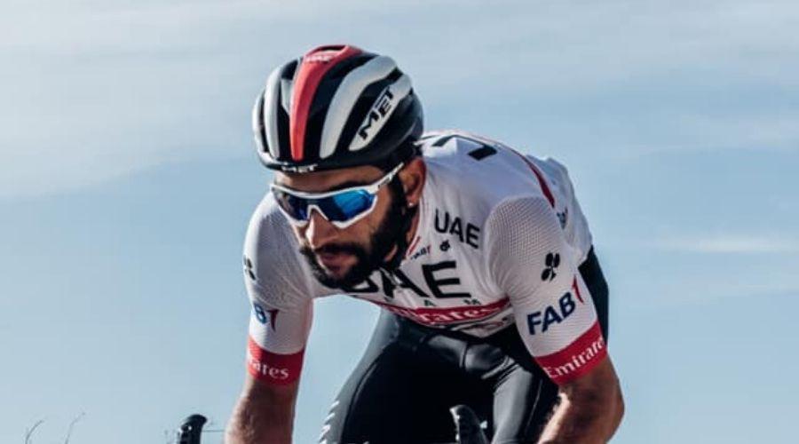 Fernando Gavria con el UAE
