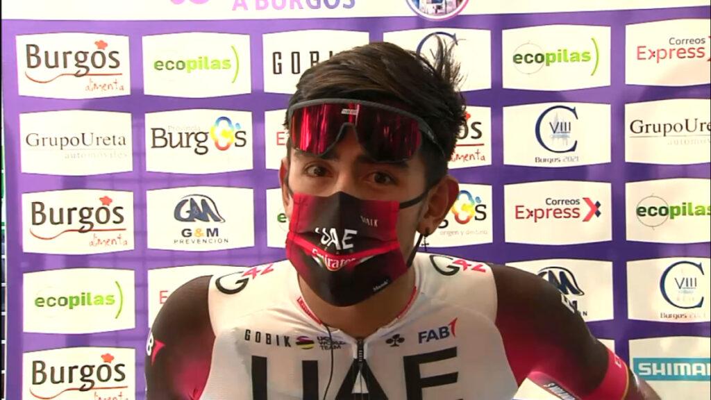 Juan Sebastián Molano dato Colombia Vuelta a Burgos 2021 victoria 15