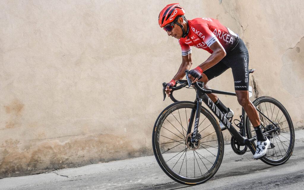 Nairo Quintana en descenso