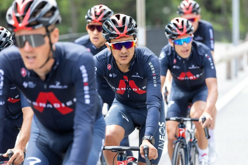 Vuelta a España 2021 Richard Carapaz mensaje compañero Ineos